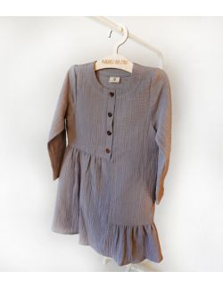 Muślinowa sukienka z bawełny organicznej