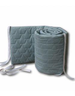 Ochraniacz do łóżeczka - khaki
