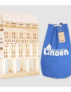 Zestaw 400 szt. klocków Linden w worku żeglarskim