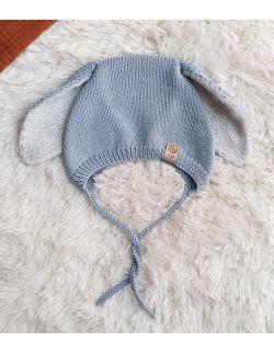 bunny bonnet Błękit