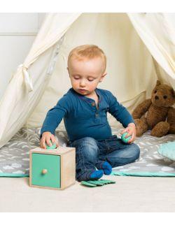 szufladka Montessori 2 w 1 kulka /żetony