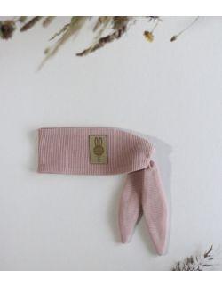 opaska Ninja królik dla chłopca brzoskwiniowa