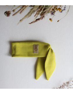 opaska Ninja królik dla dziewczynki limonkowa