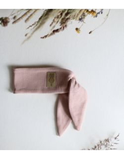 opaska Ninja królik dla dziewczynki brzoskwiniowa