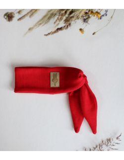 opaska Ninja królik dla dziewczynki czerwona