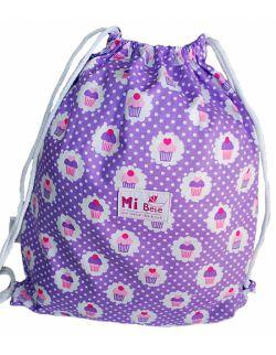 Worek dla przedszkolaka- plecak Babeczki