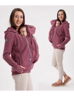 POLA- bluza ciążowa i do noszenia przód/ tył ROSE BROWN