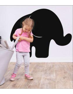 Naklejka tablicowa Elefant