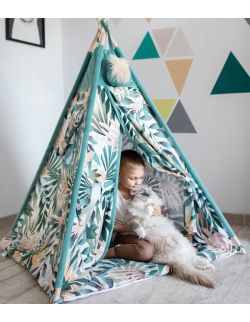 Namiot Tipi Pow-Wow + Mata do zabawy | Jungle