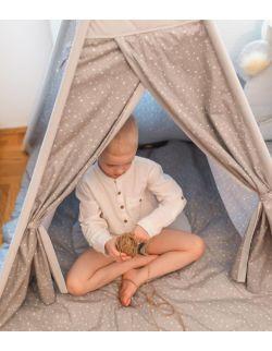 Namiot Tipi Pow-Wow + Mata do zabawy   Stars
