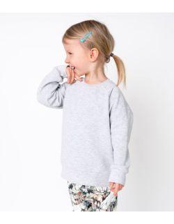 bluza dresowa szara