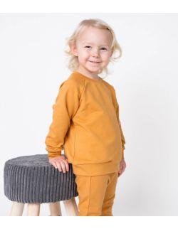 bluza dresowa musztardowa