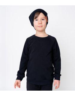 bluza dresowa czarna
