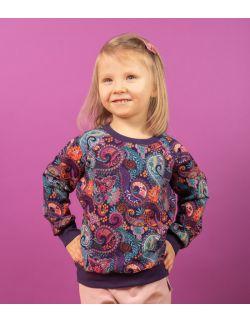 bluza dresowa orient fiolet