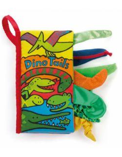 Sensoryczna książeczka Dino z ogonami