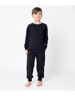 Baggy dresowe czarne