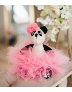 personalizowana panda baletnica z imieniem dziecka