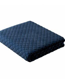 Narzuta Posh velvet 100x120 niebieski, granatowy