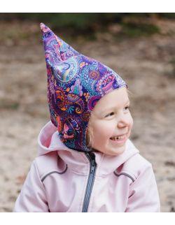 Kominiarka czapka orient fiolet