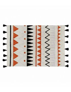 Dywan Bawełniany Azteca Terracota L 140x200 cm Lorena Canals
