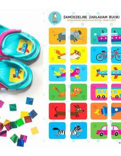 naklejki do butów - Samodzielnie zakładam buciki