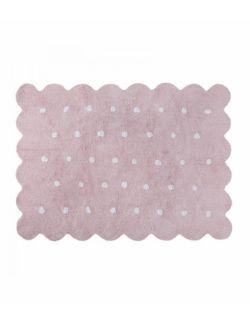 Dywan Bawełniany Biscuit Pink 120x160 cm Lorena Canals
