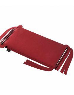 Ochraniacz do łóżeczka intensywna czerwień