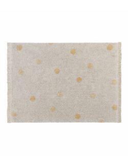 Dywan bawełniany Hippy Dots Honey 120x160 cm Lorena Canals