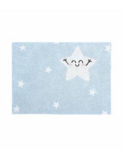 Dywan bawełniany Mr Wonderful Happy Star 120x160 cm Lorena Canals
