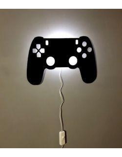 Ścienna nocna lampka LED - KONTROLER/PAD czarna