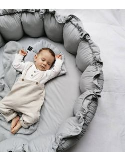 Gniazdo niemowlęce NIDO - szare