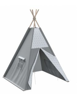 Tipi szare z trójkątami