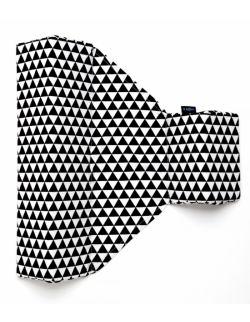 Ogranicznik trójkątny Trójkąty biało czarne