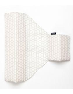 Ogranicznik trójkątny Grochy szaro białe