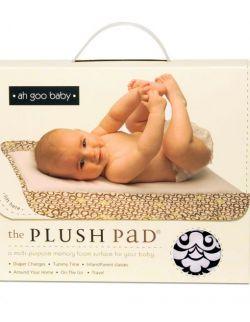 Podróżny przewijak Plush Pad z pianki memory - wzór Audrey