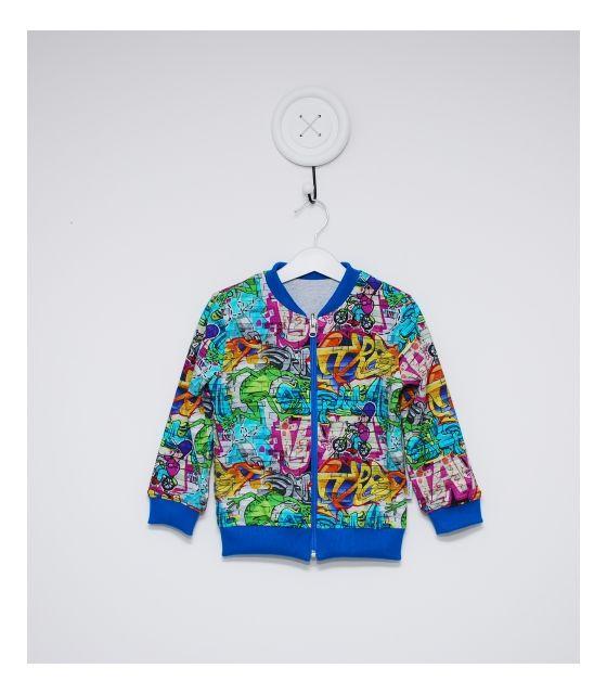 Dwustronna bluza MURAL