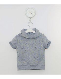 T-shirt z kapturem