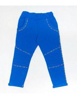 Niebieskie spodnie BIKER