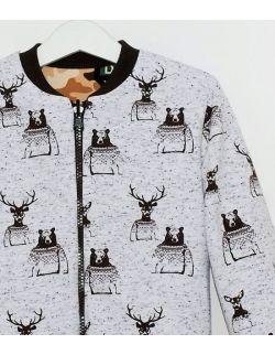 Dwustronna bluza MORO