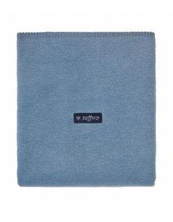 Koc bawełniany 75 x 100 cm Niebieski