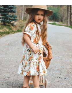 sukienka letnia łąka - Falbanki