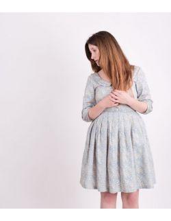 Sukienka dla mamy AZURE FLORAL