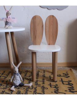 Krzesełko dziecięce króliczek premium