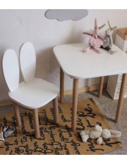 Zestaw krzesełko i stolik kwadrat