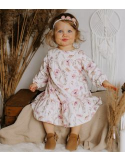 sukienka Zofia z długim rękawem