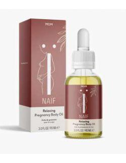 Relaksujący olejek do pielęgnacji ciała dla kobiet w ciąży NAIF