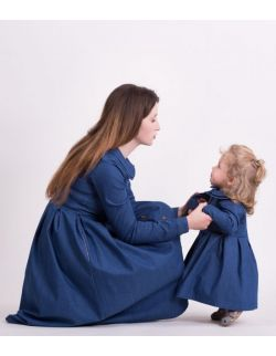 Sukienka dla mamy BLUE DENIM