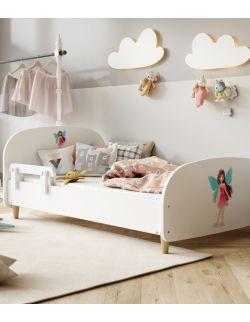 Łóżko Olli 140x70 białe - wróżka 1