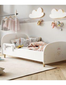 Łóżko Olli 140x70 białe - lama 2