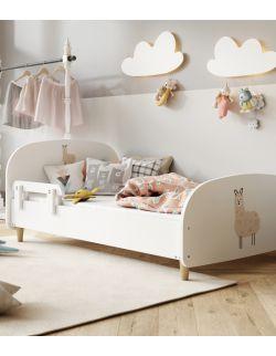 Łóżko Olli 140x70 białe - lama 3